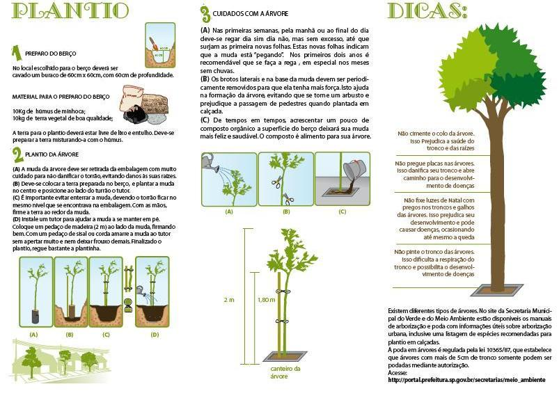 Cartilha de Arborização Urbana