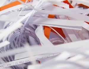 Tiras de papel