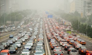 Trânsito na China