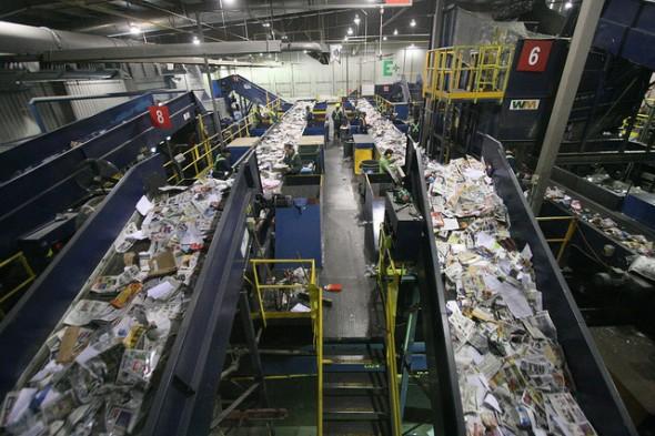 Usina de Reciclagem