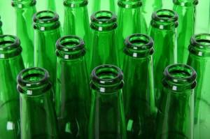 garrafa de vidro