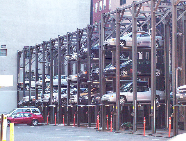 Estacionamento vertical