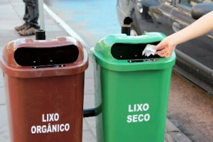 Lixo orgânico e seco
