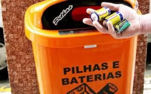 Reciclagem de pilha e bateria