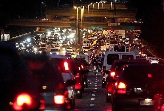 trânsito de São Paulo