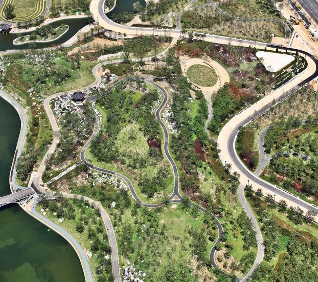 Central Park de Songdo
