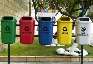 Lixo coleta seletiva