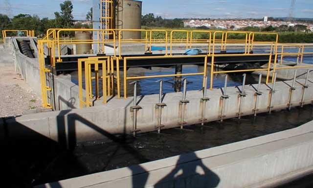 Estação de tratamento de água - gradeamento