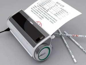 aparelho que transforma papel usado em lápis