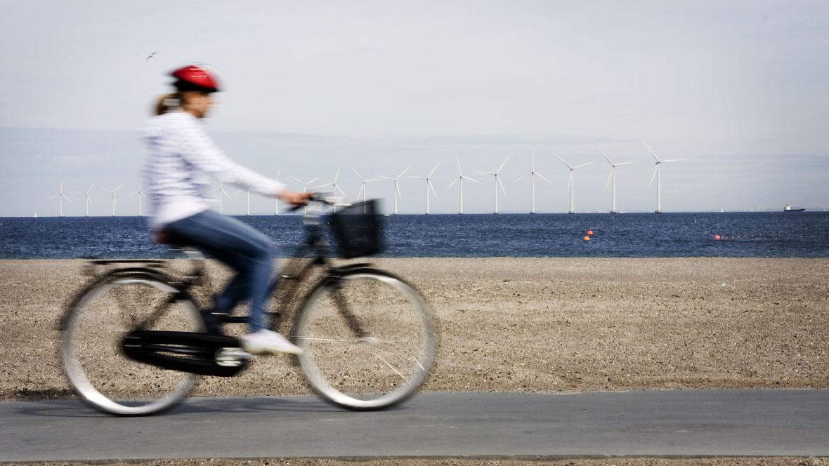 Bicicleta e energia eólica