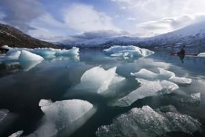 Gelo no Ártico