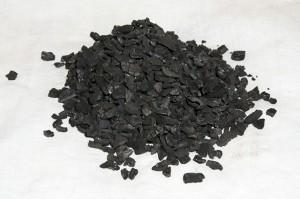 Carvão granular