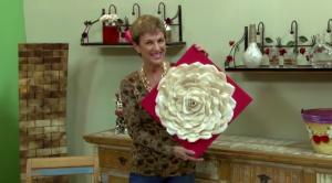Artesanato com coador de papel reciclado