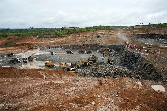 Obras da Usina de Belo Monte