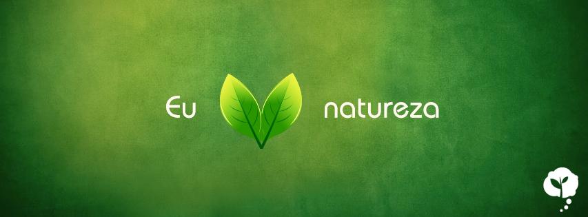 "Capa ""Eu amo natureza"""