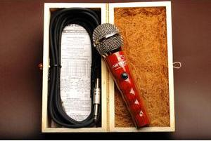 Microfone ecológico