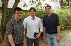 Cezar, Lucas e Gerson.