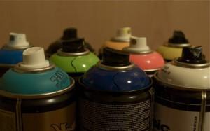 Aerossol de tinta