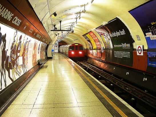 Metrô de Londres.