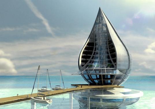 Water Building Resort, Dubai.