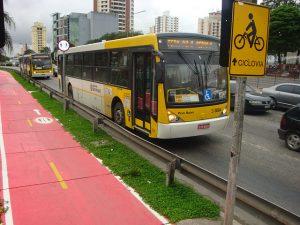 Faixa para ciclistas