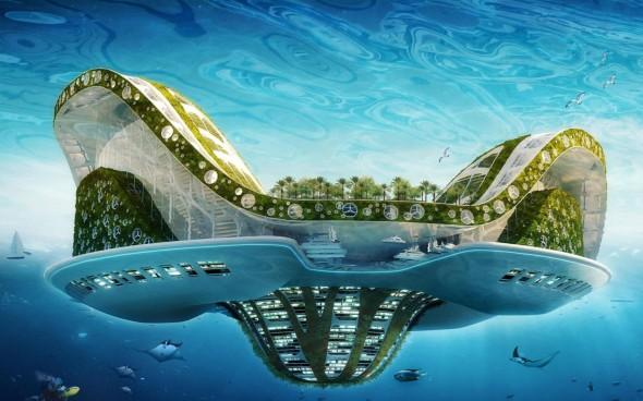 Cidade flutuante