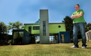 Casa Container de Danilo Corbas