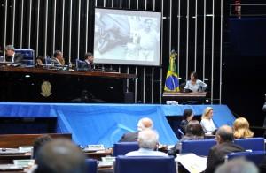 Sessão solene no Congresso Nacional, em Brasília/DF, em memória do seringueiro