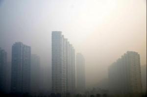 Poluição atmosférica na China