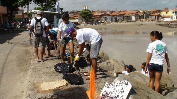 Limpando o Mundo no Ceará 2013