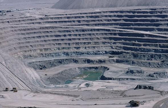 A mina de Chuquicamata
