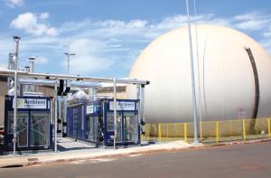 Estação de Biogás
