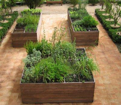 Jardim de ervas
