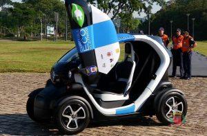 Carro Eco-Elétrico de Curitiba