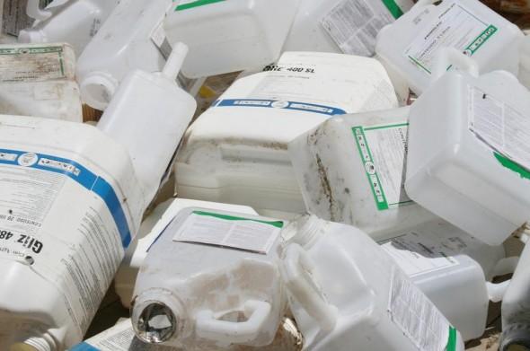 Embalagem de agrotóxico