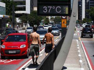 Temperatura em São Paulo