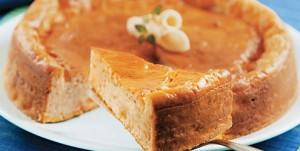 Torta salgada de casca de abóbora com recheio de talos