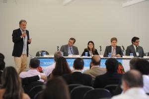 Nelson Franco, Délio Malheiros, Juliana Lopes, Felix Dane e Adalberto Maluf. Foto: Divulgação