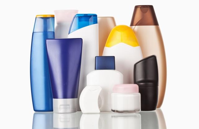 foto de produtos de higiene pessoal